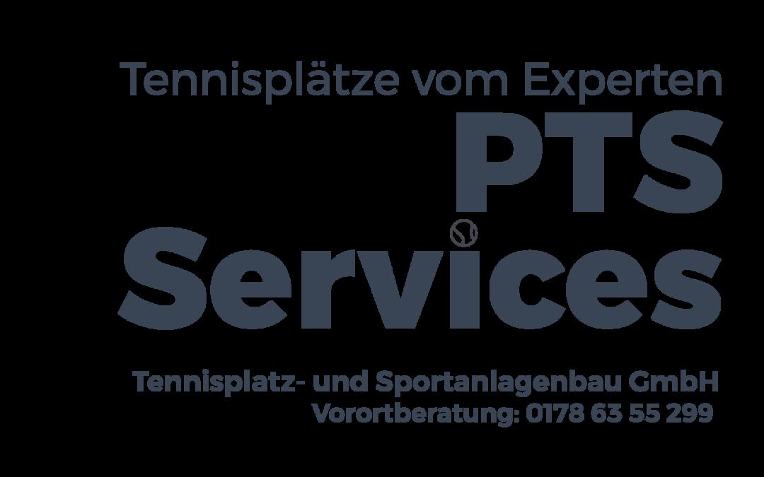 Neue PTS Tennisplatzservice Homepage informiert über Tennisplatzbau