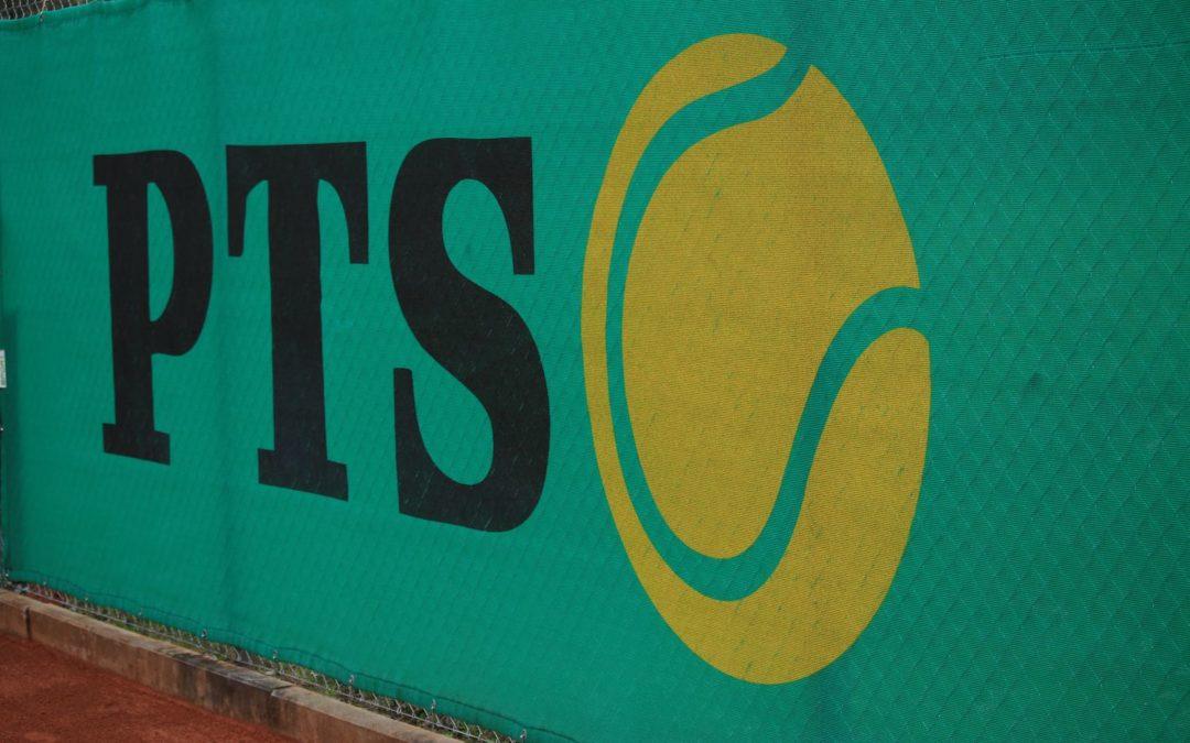 Bedruckte Tennisplatzblenden als Wind- und Sichtschutz