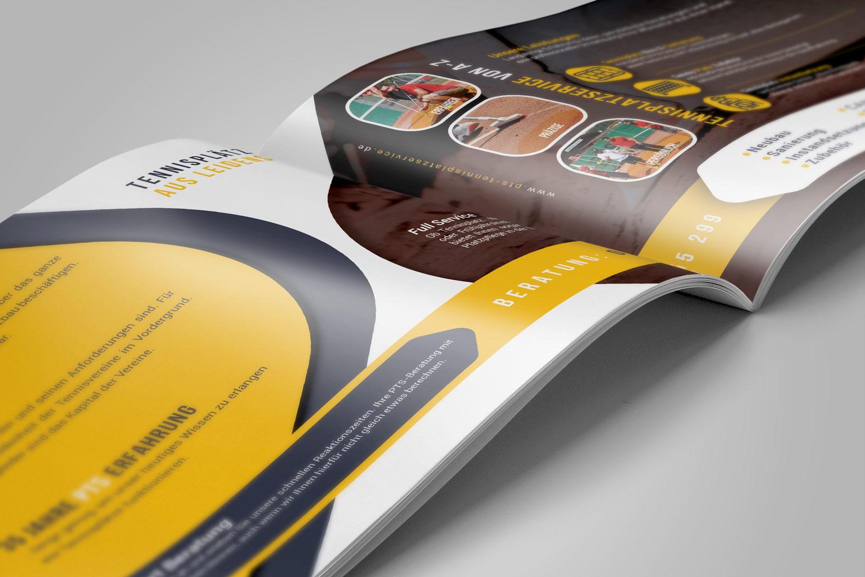 PTS Tennisplatzservice Broschüre